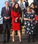 The Duchess of Cambridge, Patron of Place2Be, accompanied by The Duke of Cambridge attends 'The Big Assembly' by Place2Be hosted at Mitchell Brook Primary School