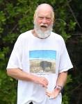 David Letterman Jogs In St Barts