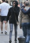 Diane Kruger Out In Barcelona While Norma Reedus Does His Promotion