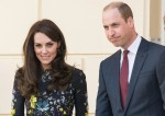Catherine, Duchess of Cambridge, Prince William, Duke of Cambridge and Prince Harry visit The Institute of Contemporary Art