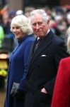 Prince Charles and the Duchess of Cornwall meet and greet the people of Hull