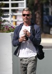 Gavin Rossdale grabs a coffee while out and about in Studio City