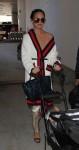 Chrissy Teigen and John Legend arrive at LAX