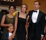 Angelina Jolie, Brad Pitt and Mariane Pearl