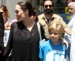 Angelina Jolie visit Syrian refugees