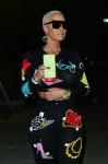 Amber Rose at the Neon Carnival at Coachella