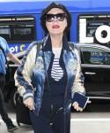 Susan Sarandon arrives at LAX Airport