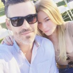 Jennifer Lopez and her boyfriend Alex Rodriguez visit The Louvre