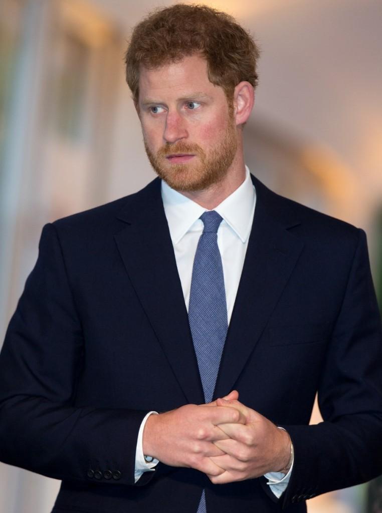 Prince Harry attends Landmine Free 2025 event
