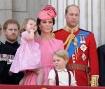 Duchess of Cambridge holding Princess Charlotte of Cambridge