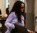 Rihanna at Los Angeles International Airport