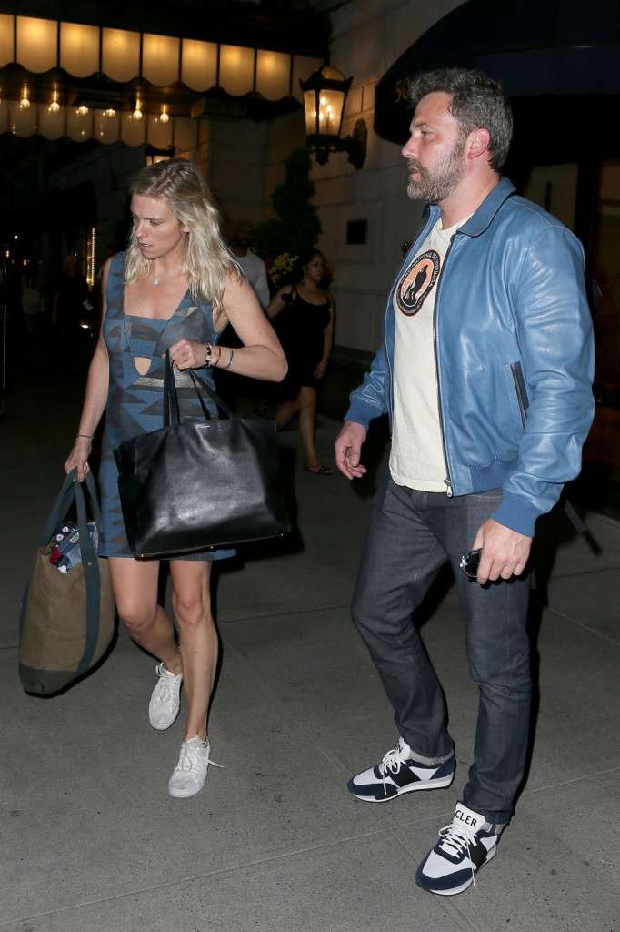 Ben Affleck is really rolling out this Lindsay Shookus relationship