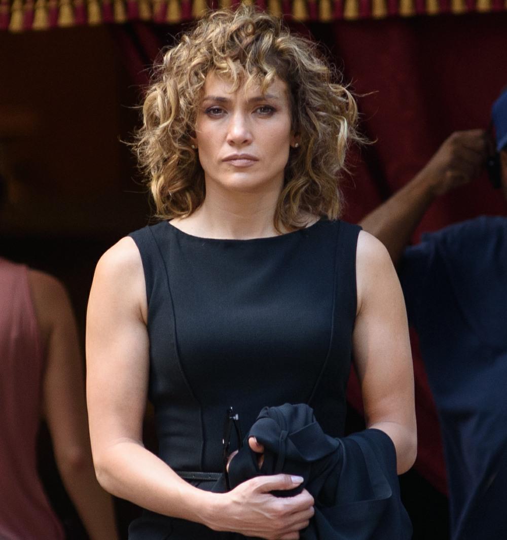 Jennifer Lopez on 'Shades of Blue' set
