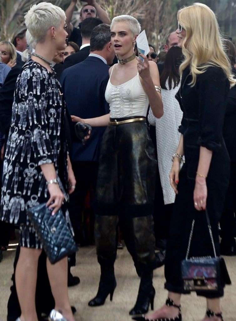 Paris Fashion Week Haute Couture Fall/Winter 2017-2018 - Chanel - Arrivals