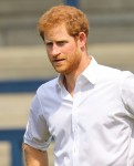 Prince Harry attends the Sky Try Rugby League Festival