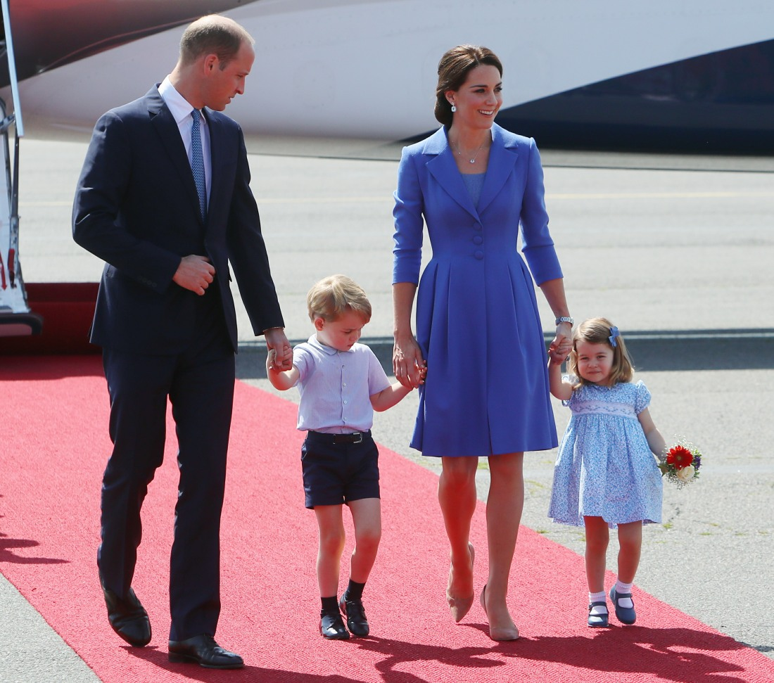 Duchess Kate in Catherine Walker for Berlin arrival: dowdy or appropriate?
