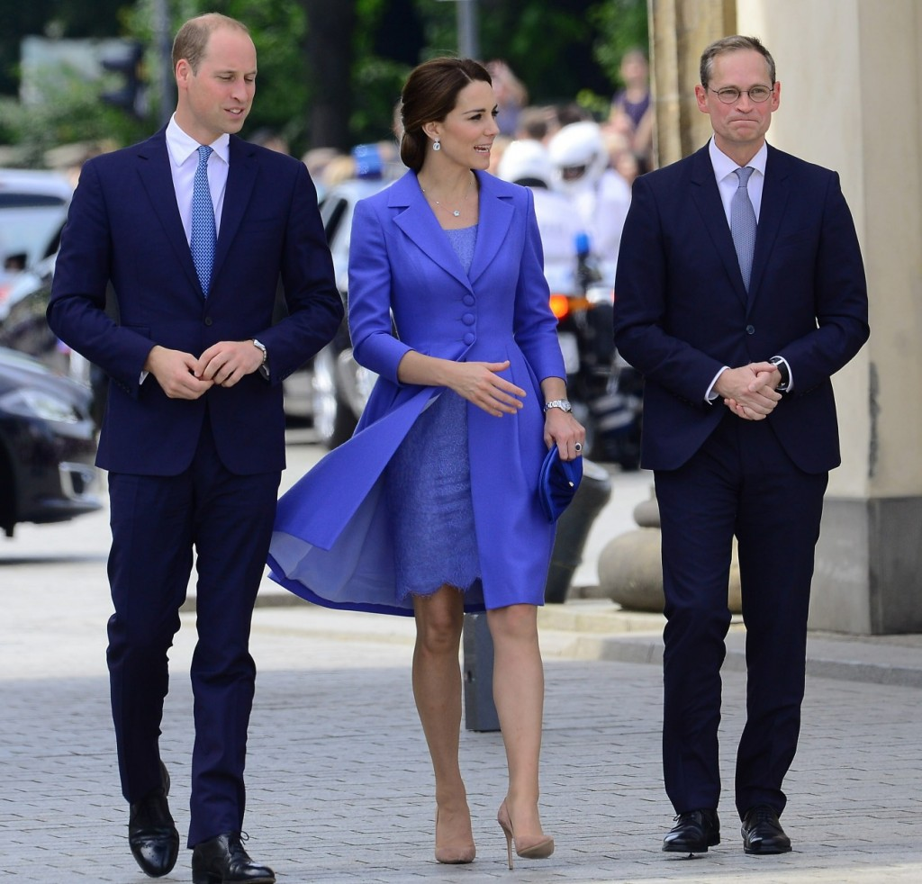 Prince William and Kate in Berlin capitol of Germany