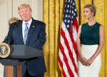 President Trump and daughter Ivanka attend Small Business Event