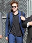 Robert Pattinson arrives at the 'Jimmy Kimmel Live' show
