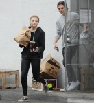 Chloë Grace Moretz and Brooklyn Beckham get take-out