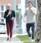 Actress Chloe Moretz pays a visit to her doctor in Beverly Hills with boyfriend Brooklyn Beckham