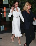 Angelina Jolie and her children leave the 'First They Killed My Father' Screening