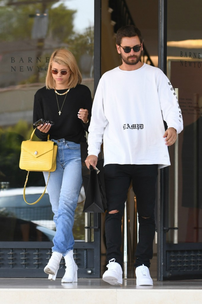 Scott Disick, 24, is dating Sofia Richie, 19: 'Scott takes care of her'