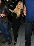 Jessica Simpson sticks her tongue out to photographers