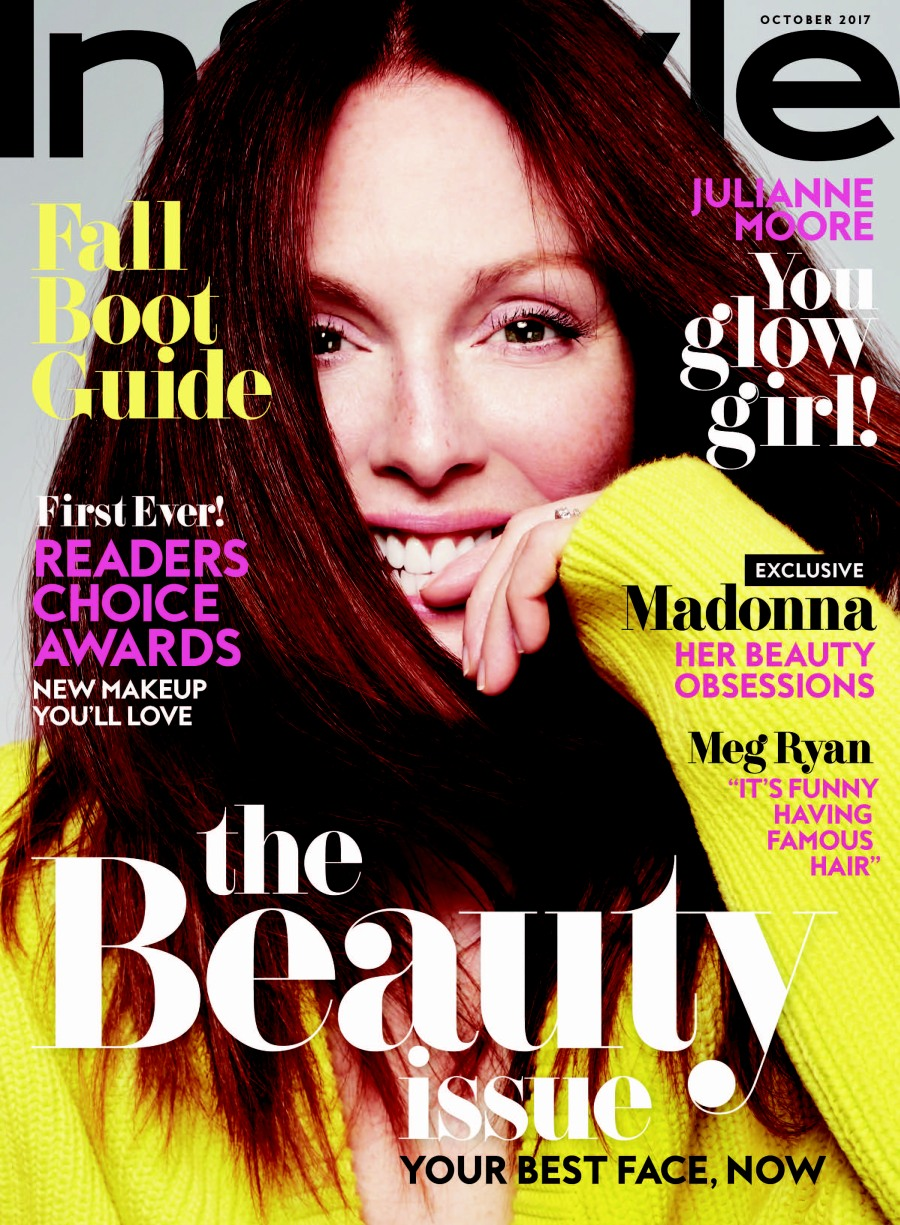 Julianne Moore: 'You could be dead. So enjoy it. It's a privilege to age!'