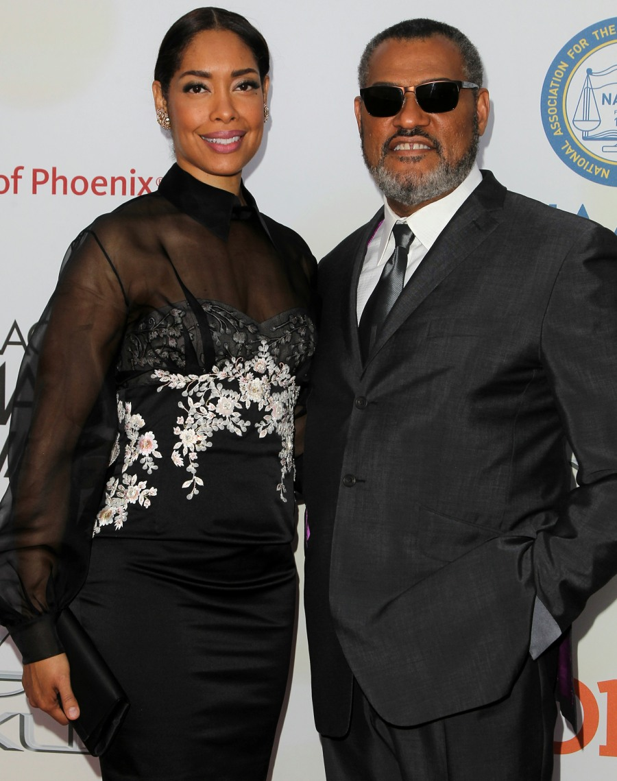 Gina Torres & Laurence Fishburne are divorcing, she's already seeing another dude