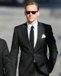 Tom Hiddleston seen arriving at the ABC studios