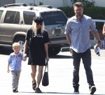 Fergie and family go to church
