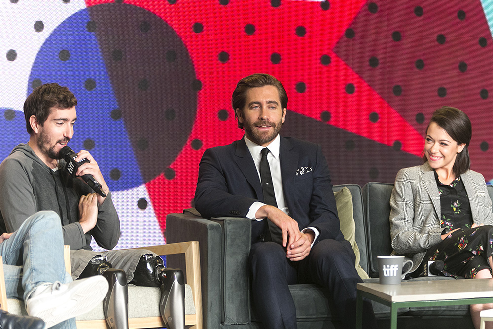 Jake Gyllenhaal was interviewed by Jeff Bauman with hilarious results