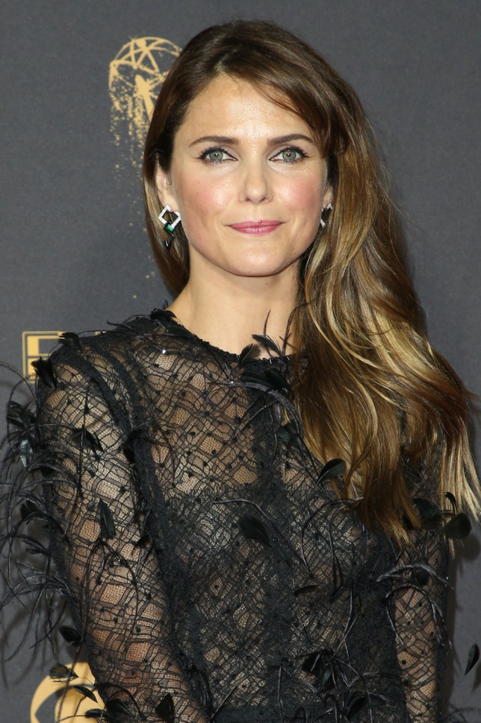 Keri Russell in feathery J. Mendel at the Emmys: fug or glam?