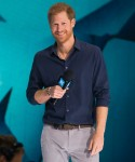 Prince Harry attends a WE Day
