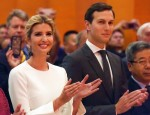 Ivanka Trump and Jared Kushner attend the National Day reception held by the Chinese Embassy