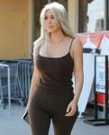 Kim Kardashian leaving the Aldik Home Store