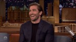 Jake Gyllenhaal during an appearance on NBC 'The Tonight Show Starring Jimmy Fallon.'