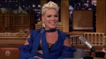 Pink during an appearance on NBC's 'The Tonight Show Starring Jimmy Fallon.'