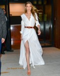 Gigi Hadid is a vision of beauty in a white dress