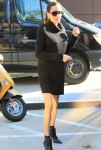 Angelina Jolie signs and poses for fans at the Directors Guild of America in Hollywood