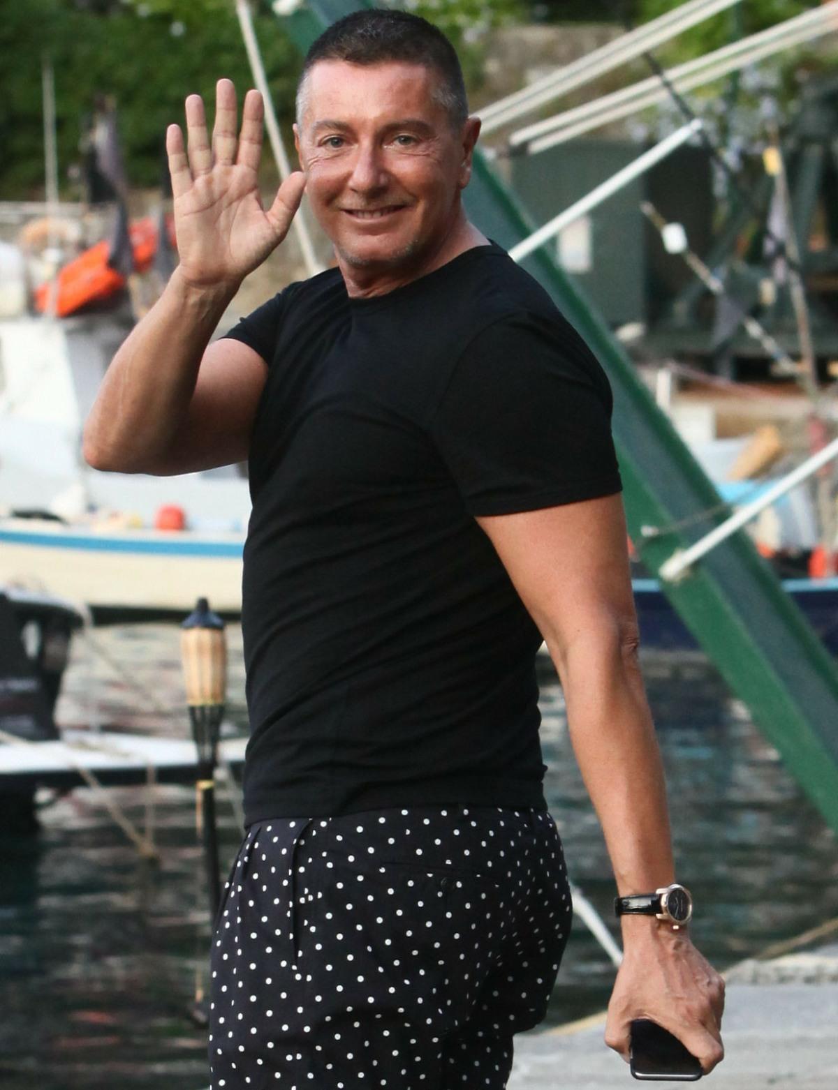 Stefano Gabbana in Portofino