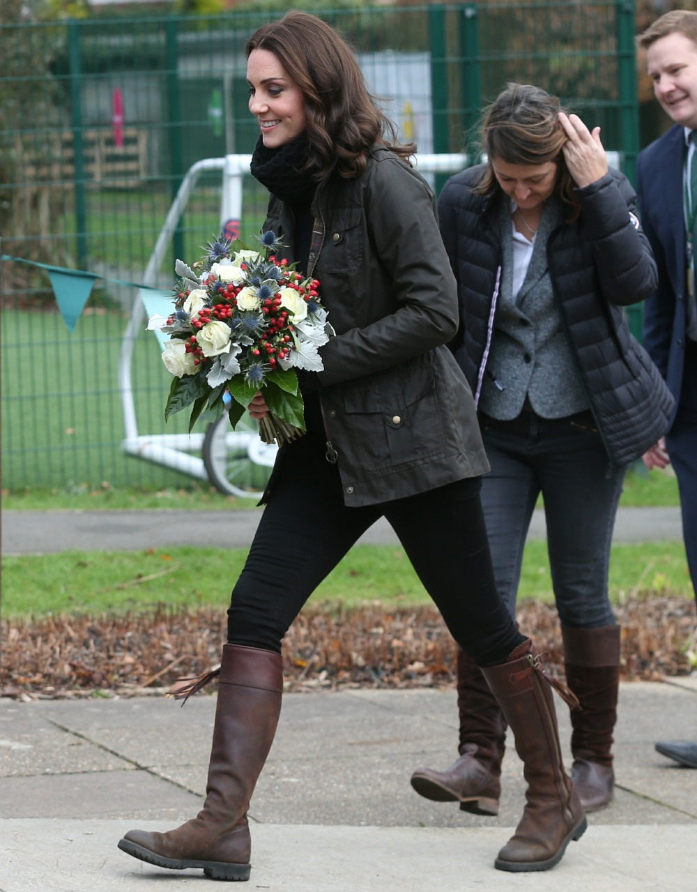 The Duchess of Cambridge visits Robin Hood Primary School