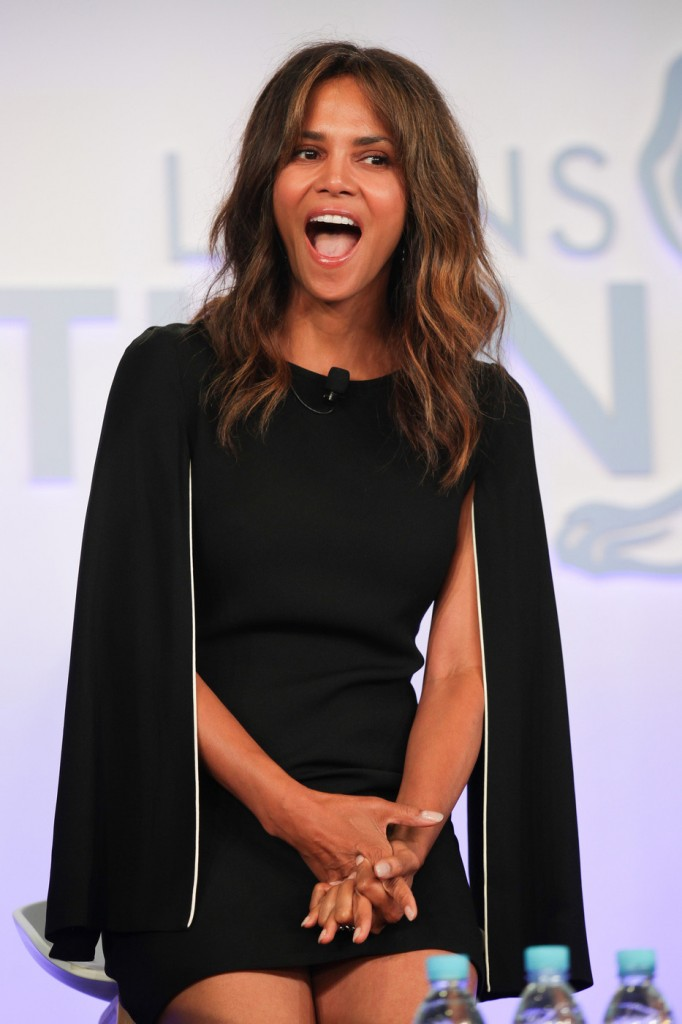Halle Berry attends the 'Tapping New Media To Connect with Fans and Their Passions' Seminar hosted by Interpublic during the Cannes Lions Festival