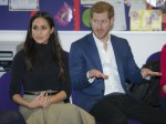 Prince Harry and Meghan Markle visit the Nottingham Academy school in Nottingham, England