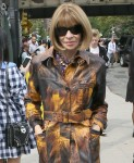 Anna Wintour spotted heading into the Coach fashion show in New York