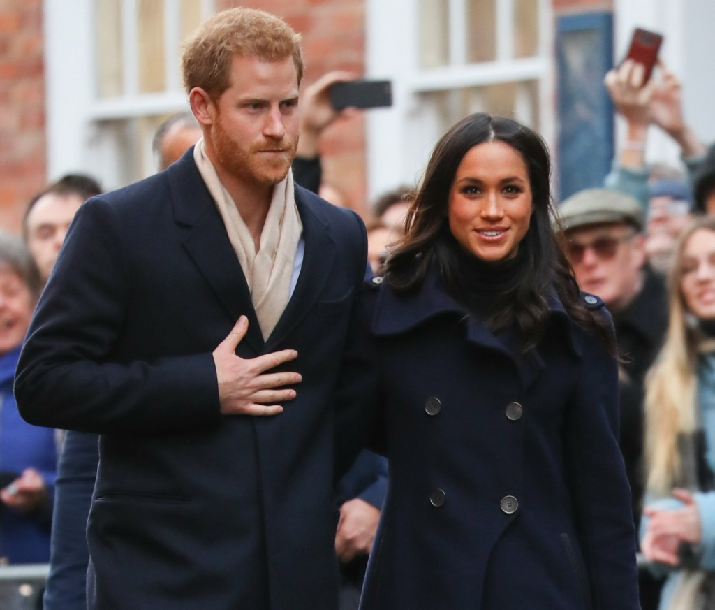 Prince Harry Meghan Markle Nottingham