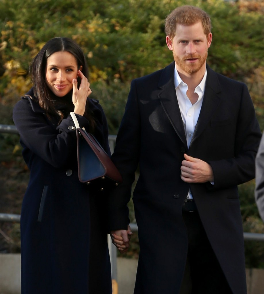 Prince Harry and Meghan Markle visit Nottingham Academy