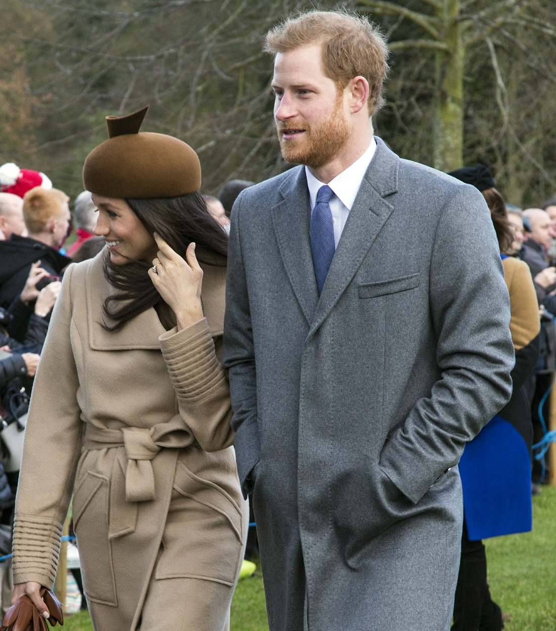The British Royal Family Arrive At