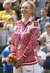 Silver Medal Winner Maria Sharapova